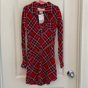 Plaid H &M tunic/dress for little girls